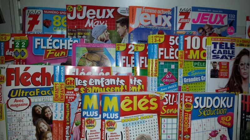 """Résultat de recherche d'images pour """"mot flechés magazine"""""""