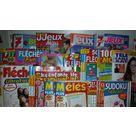 Magazines : jeux fléchés et mots croisés