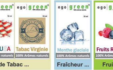 Recharges e-liquides 100% naturels
