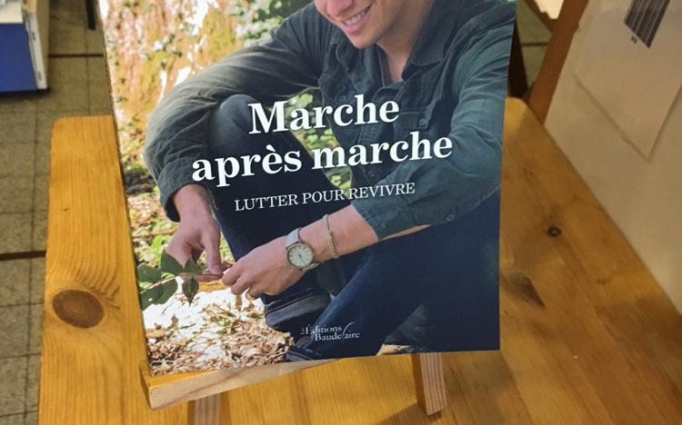 """En vente ici : """" Marche après marche, lutter pour revivre """" de Geoffrey Agostiniano"""