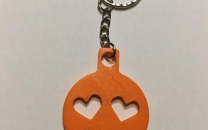 Porte-clés Emoji émoticône