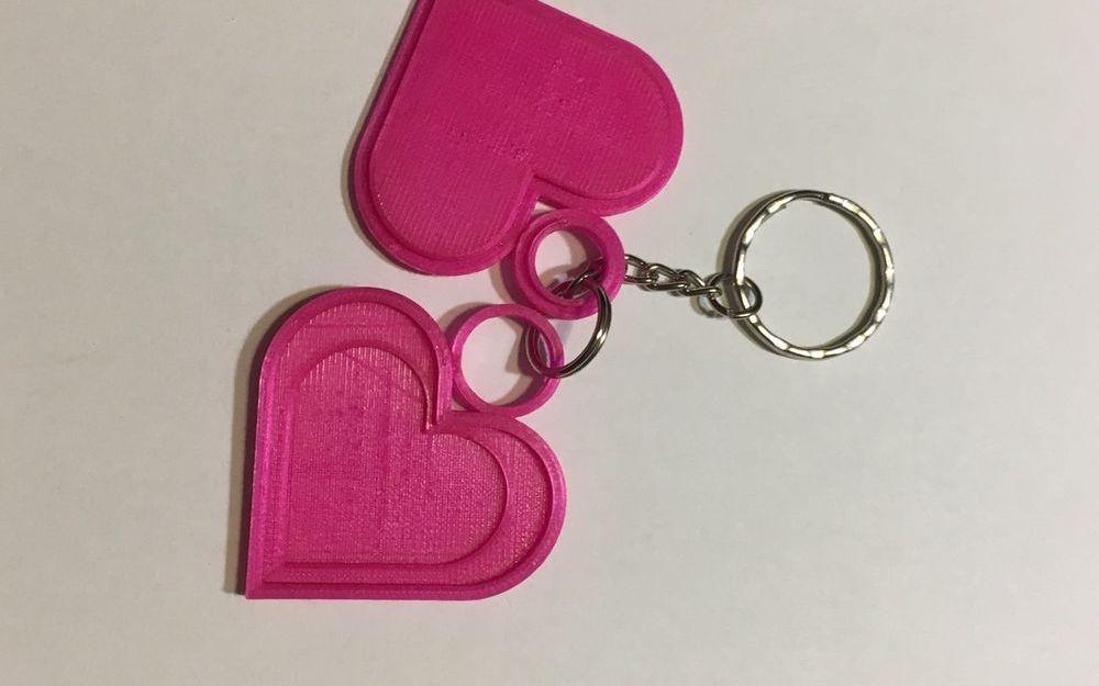 Porte-clés c½ur