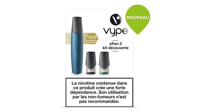 Kit découverte ePen 3 de Vype