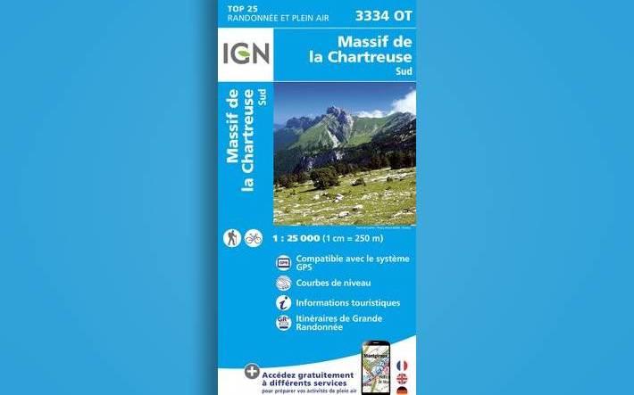 Nouveauté : cartes IGN et guides montagne !