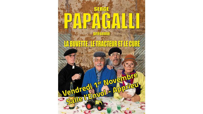 Serge Papagalli présente...