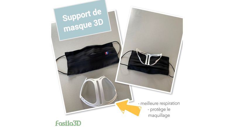 Support de masque 3D