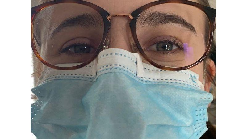 Pince-nez anti-buée pour les porteurs de lunettes